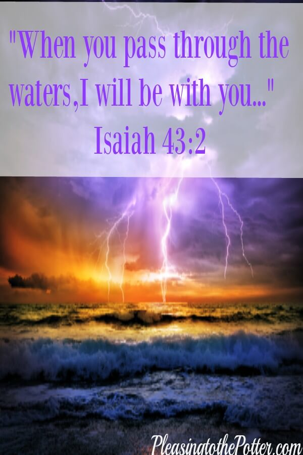 God will bring us through the storm