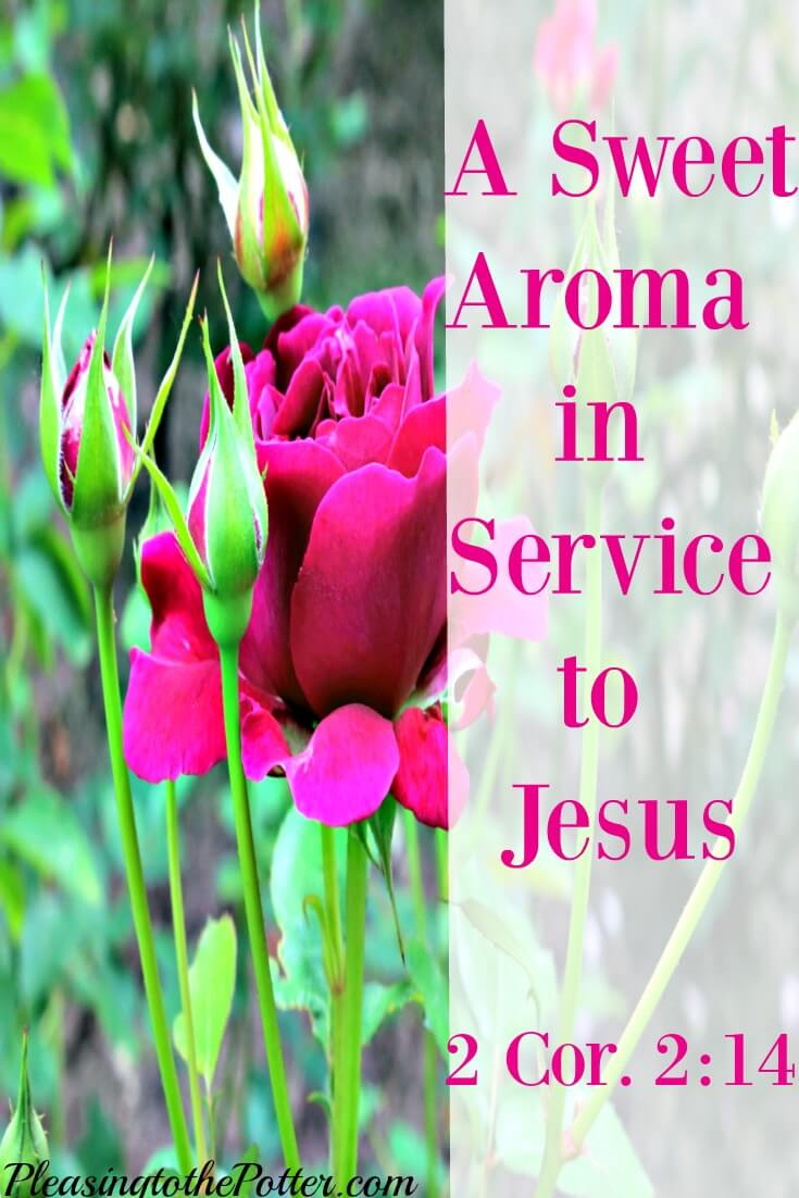 Sweet Aroma to God in Serving Jesus
