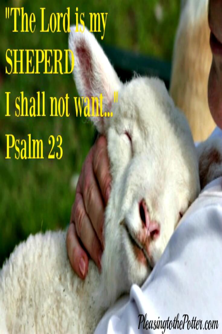 Psalm 23-Lord is my Shepherd I shall not want