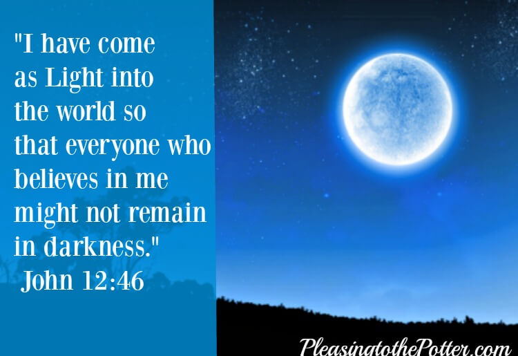 Jesus is the Light of the world!
