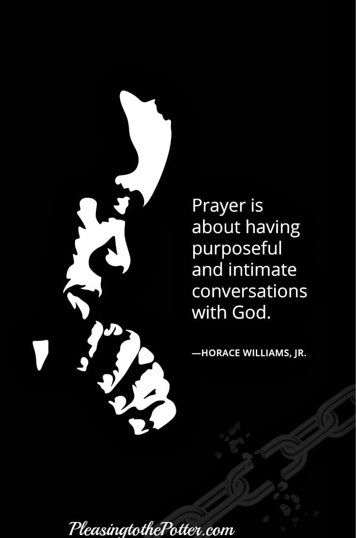 Do you desire a powerful prayer life? There is power in prayer!