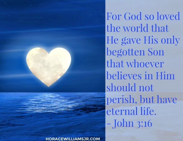 God's Unconditional Love in John 3:16