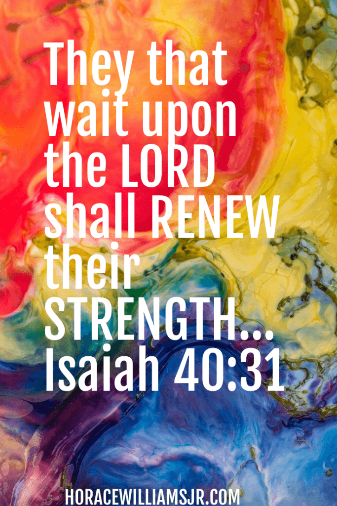 Waiting on God is Necessary